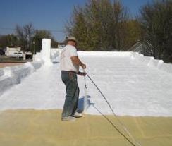 Foam Roof Repair Iowa