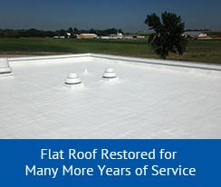 Foam-roof-repair-service
